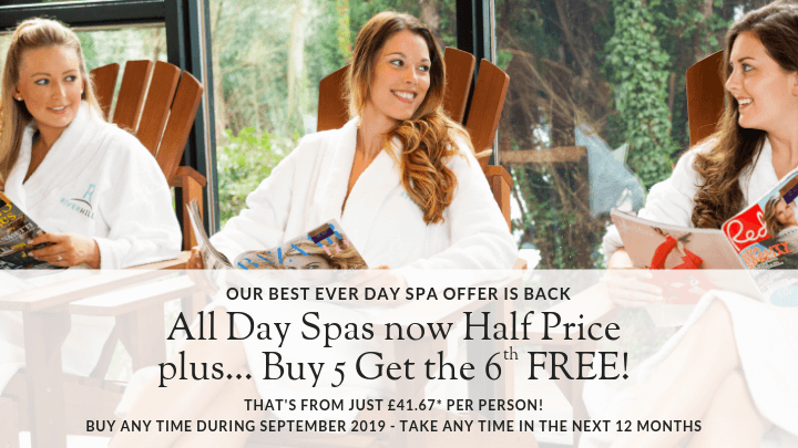 September 2019 Riverhills Day Spa offers