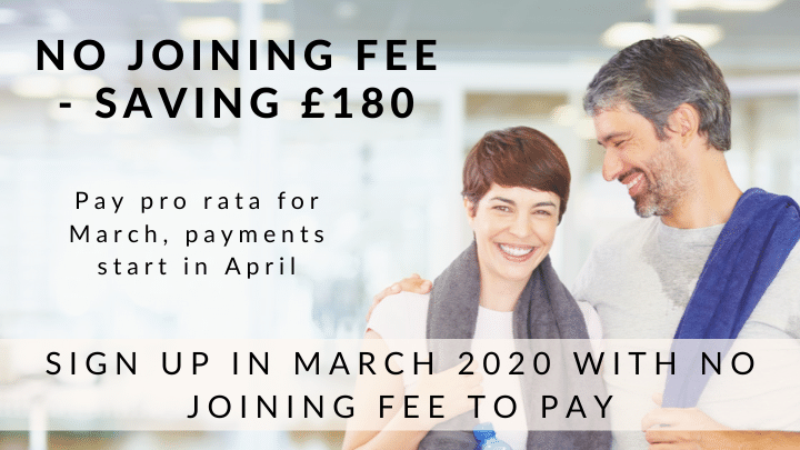 No joining fee - March 2020 membership offer at Riverhills