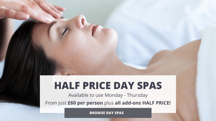 Half price spa days for Monday - Thursday use at Riverhills