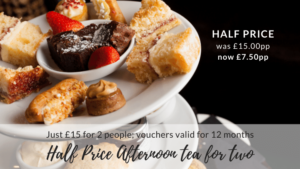 Half Price Afternoon Tea for Two