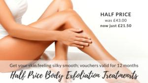 Half Price Body Exfoliation Treatments