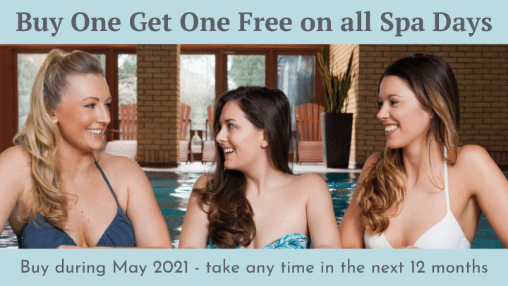 Buy one get one free Spa days